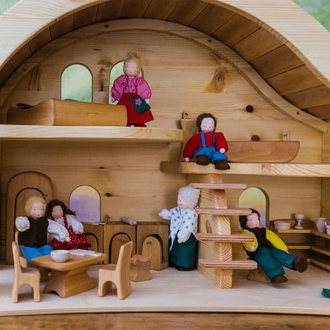 dukkehus med balkom
