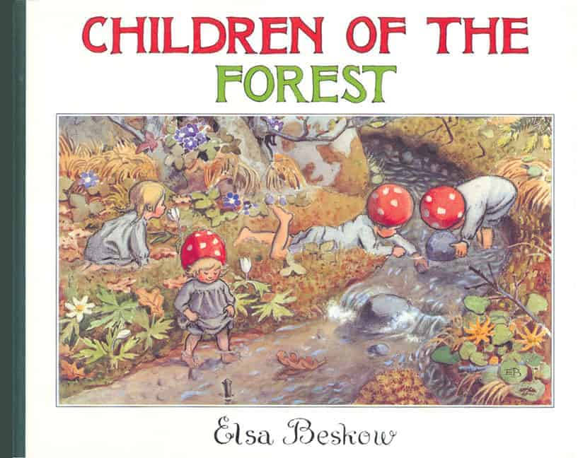 Elsa Beskow Children of the Forest