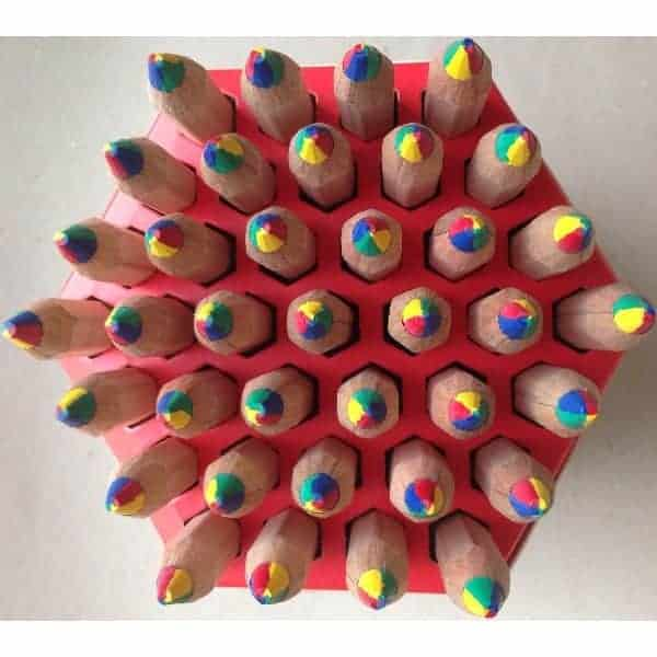 farveblyant fire milti farvet farvet stockmar