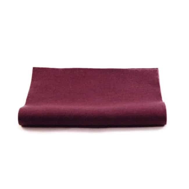 filt lilla uld plantefarve økologisk filtstykke