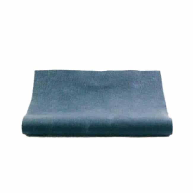 filt filtstykke økologisk platntefarve uld