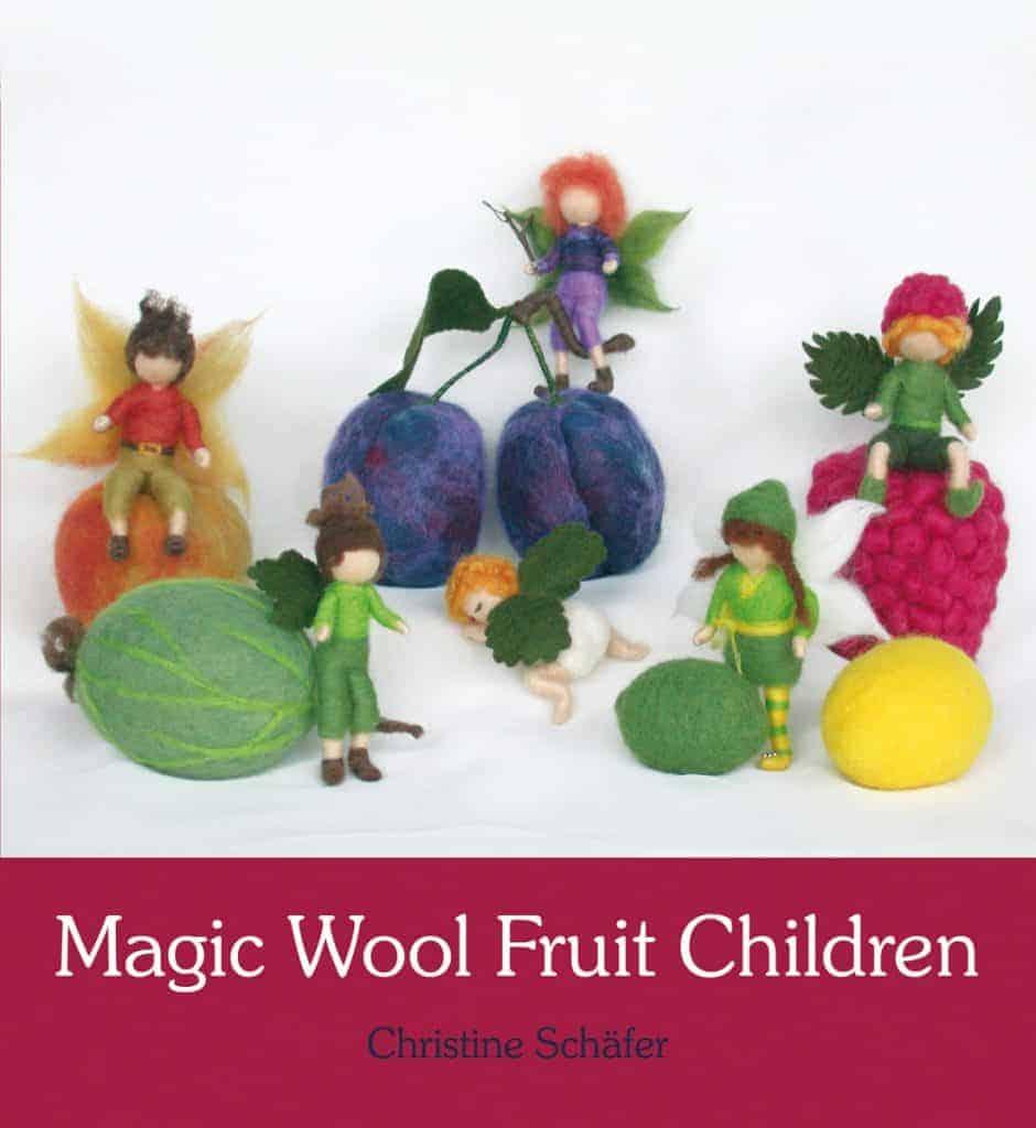 magic wool fruit children uld frugt børn