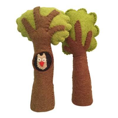 ugletræ i filt