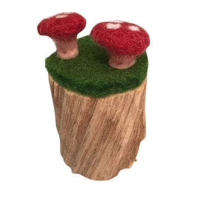 filt svampe på stubbe
