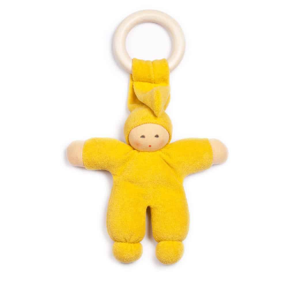nanchen dukke bidering gul