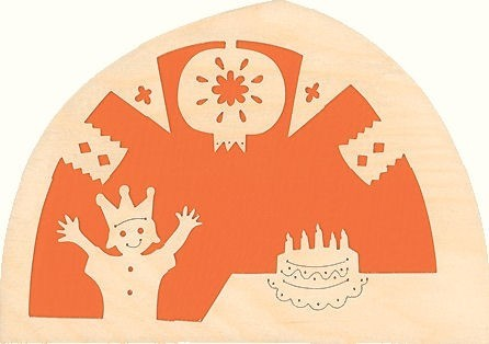silhuet foedselsdag