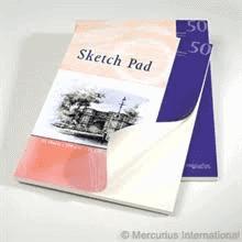 Akvarel papir skitseblok