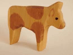 håndlavet ko træ