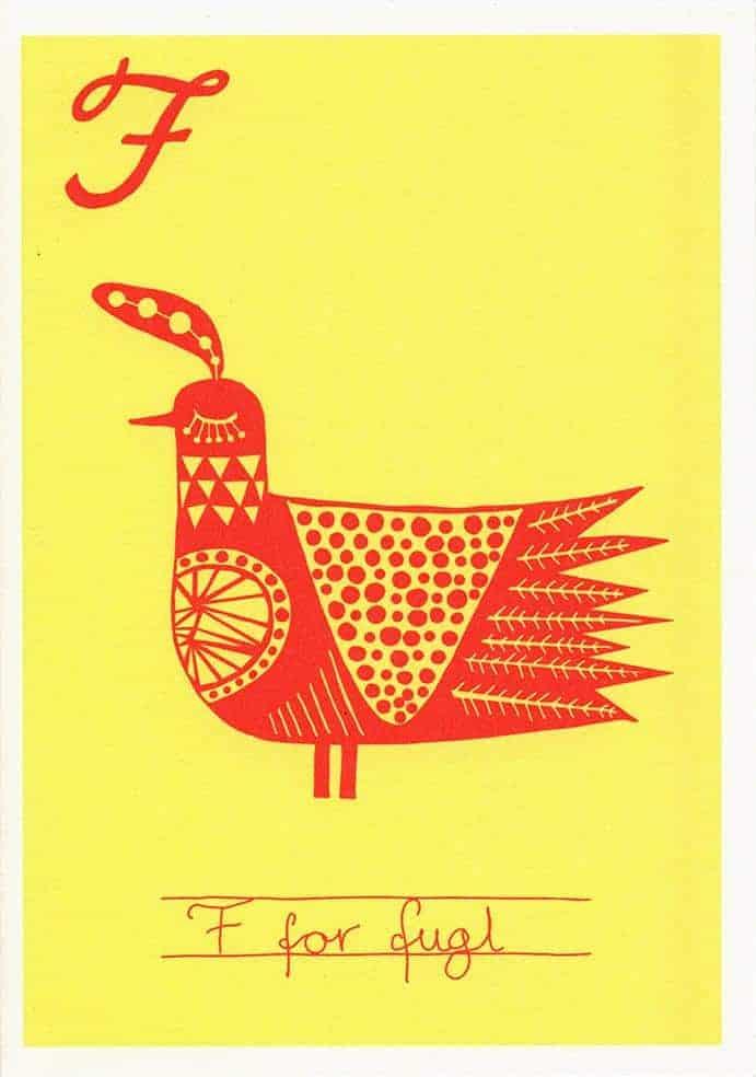 F for fugl