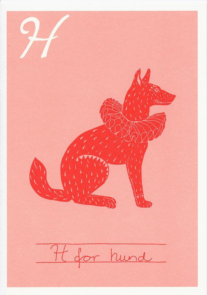H for hund