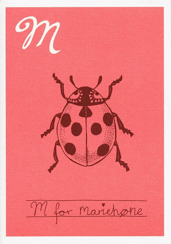 M for mariehøne