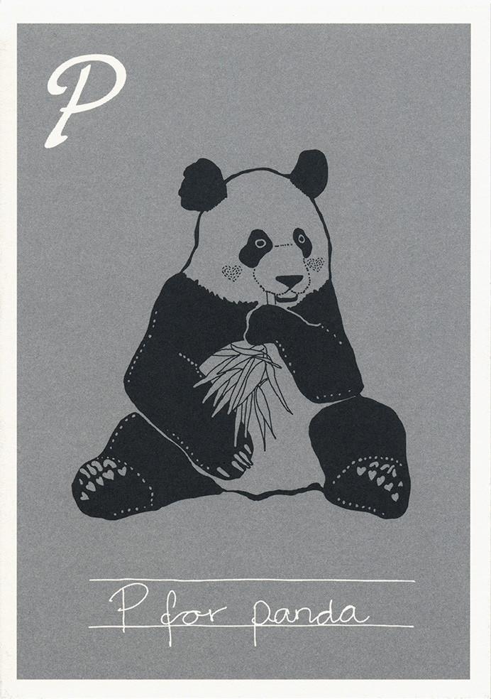 P for panda