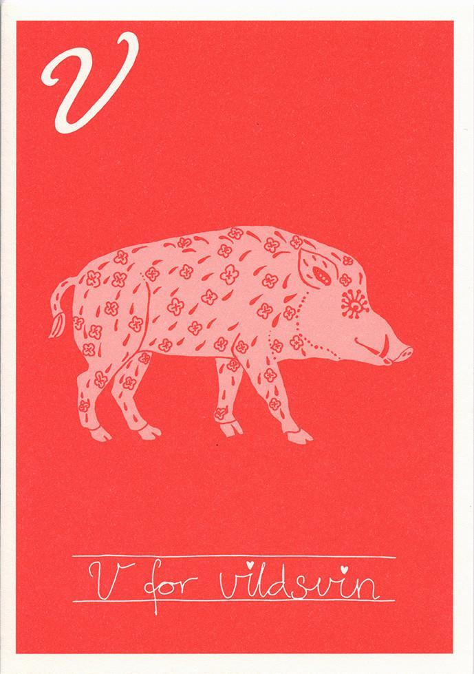 V for vildsvin