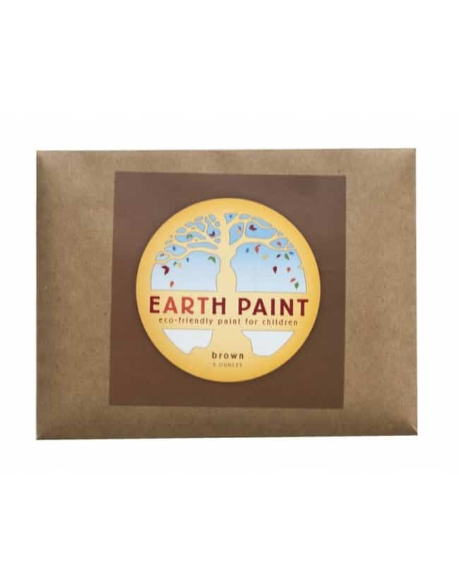 Earth Paint maling - brun