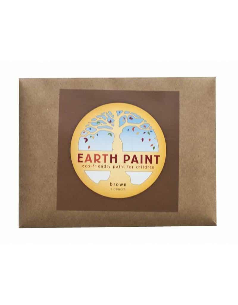 Earth Paint maling - brun