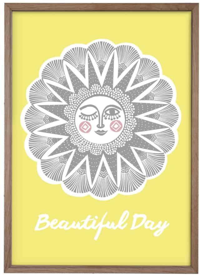 Beautiful Day - A3 plakat