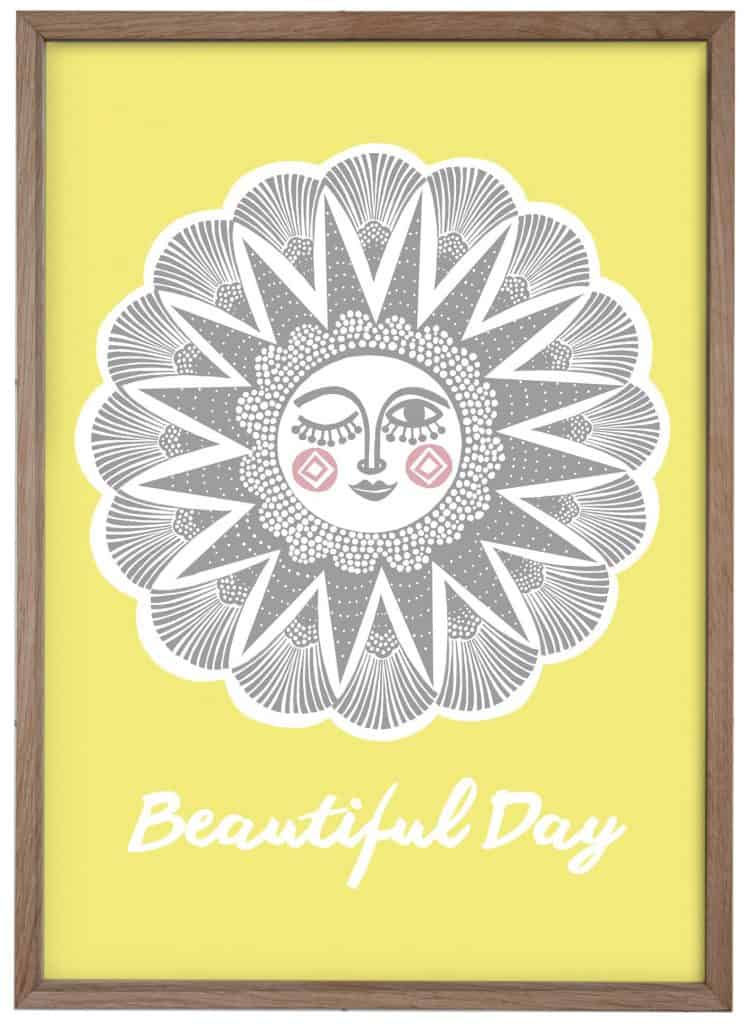 Beautiful Day - A3 plakat