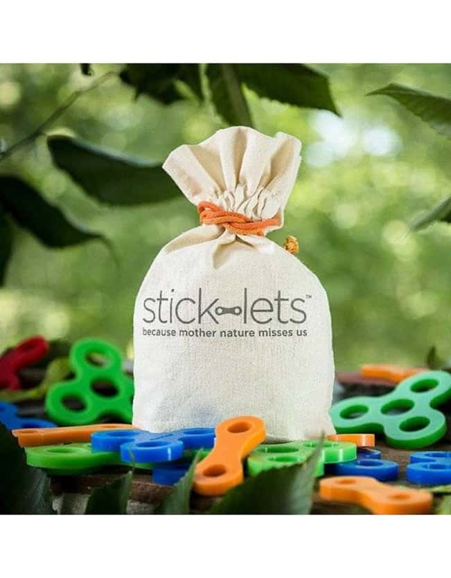 Stick-Lets - I bomuldspose