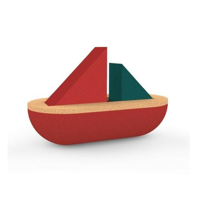 Sejlbåd i kork