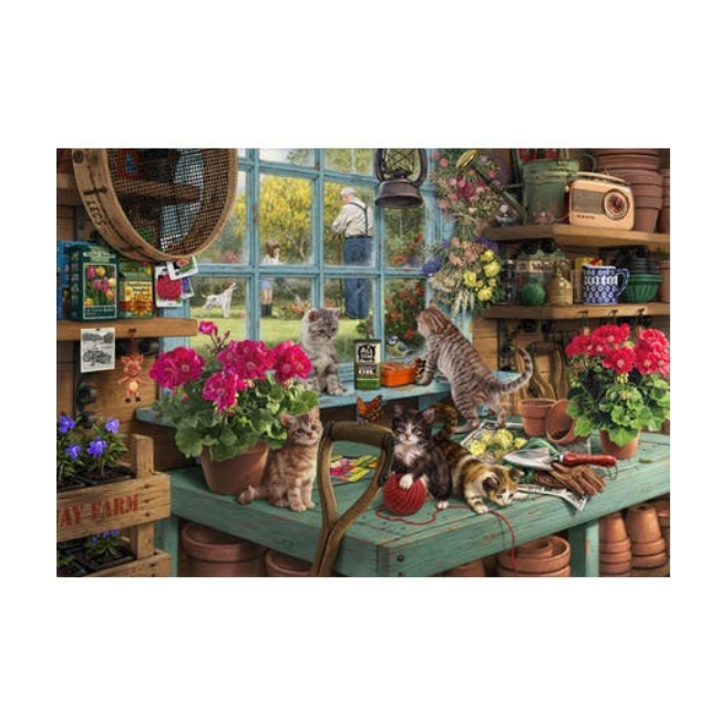 Puslespil - Grandpas's Potting Shed Micro