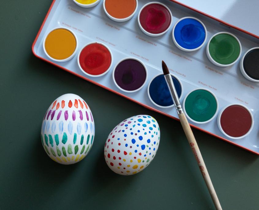 puste æg påskeæg påske dekoration