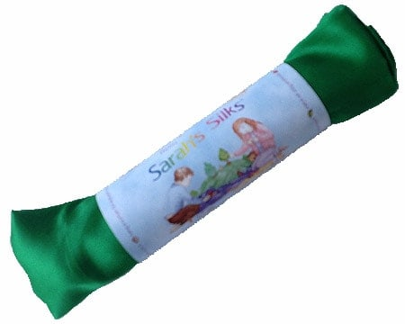 Legesilke - Grøn